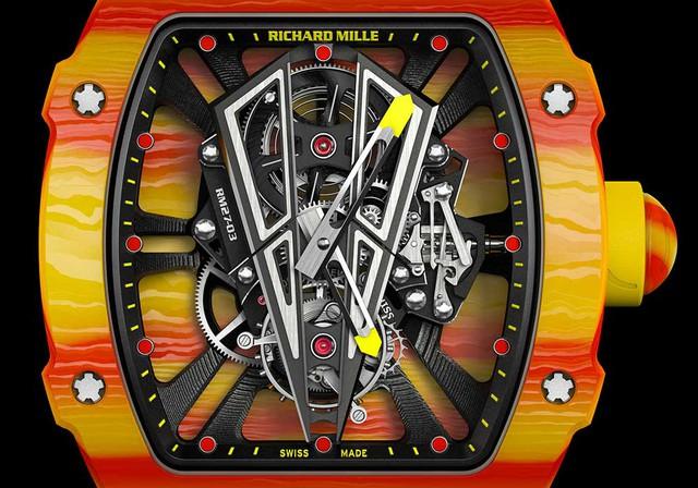 Siêu phẩm đồng hồ RM 27-03 gắn liền với vua đất nện Rafael Nadal: Richard Mille chỉ sản xuất giới hạn 50 chiếc, Việt Nam cũng có đại gia bỏ 30 tỷ VNĐ để tậu về - Ảnh 4.