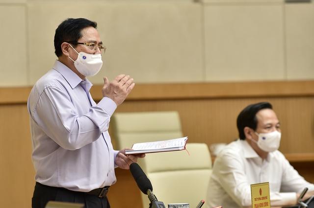 Thủ tướng chỉ đạo dập dịch ở Bắc Giang: Phòng chống dịch với phương châm 5K+vaccine+công nghệ - Ảnh 2.