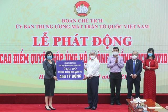 Vạn Thịnh Phát ủng hộ 450 tỷ, Sunny World, Vietcombank, Techcombank, TNG Holdings, MB, SCB, Khang Điền, TH True Milk...chung tay chống dịch - Ảnh 2.