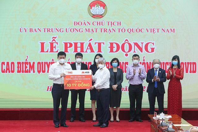Vạn Thịnh Phát ủng hộ 450 tỷ, Sunny World, Vietcombank, Techcombank, TNG Holdings, MB, SCB, Khang Điền, TH True Milk...chung tay chống dịch - Ảnh 5.
