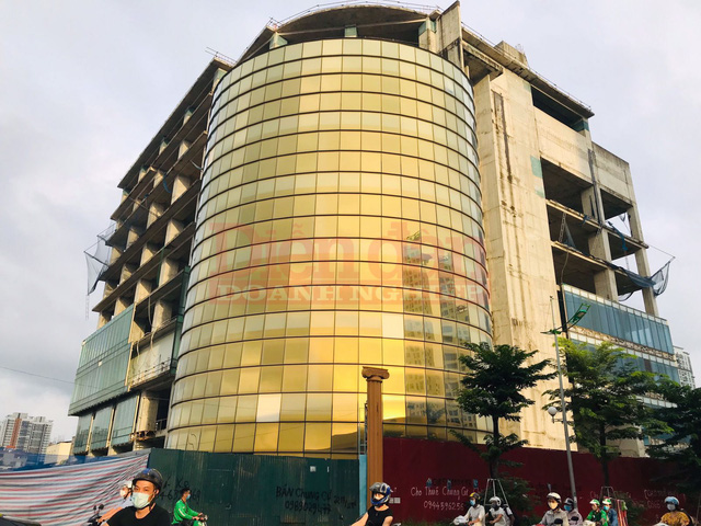 Siêu dự án dát vàng Habico Tower đến nay vẫn bị bỏ hoang.