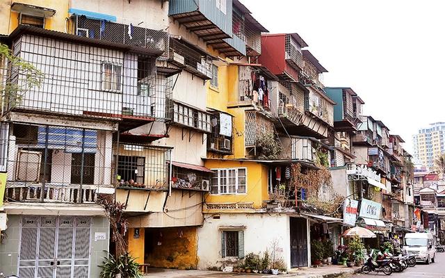 Hà Nội: Sắp cải tạo chung cư cũ Giảng Võ, Thành Công, Ngọc Khánh - Ảnh 2.