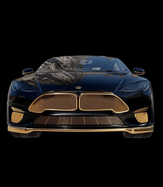 Chơi xe kiểu nhà giàu: Chi 7 tỷ mua cặp Tesla và iPhone 12 mạ vàng giới hạn 99 đôi trên toàn thế giới  - Ảnh 6.