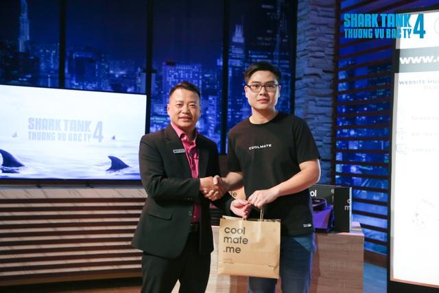 Bán áo thun, bít tất cho nam giới định giá công ty hơn 6 triệu USD, Coolmate bất ngờ được Shark Bình tuyên bố chốt deal ngay và luôn, hứa giúp mở rộng mạng lưới ra Đông Nam Á