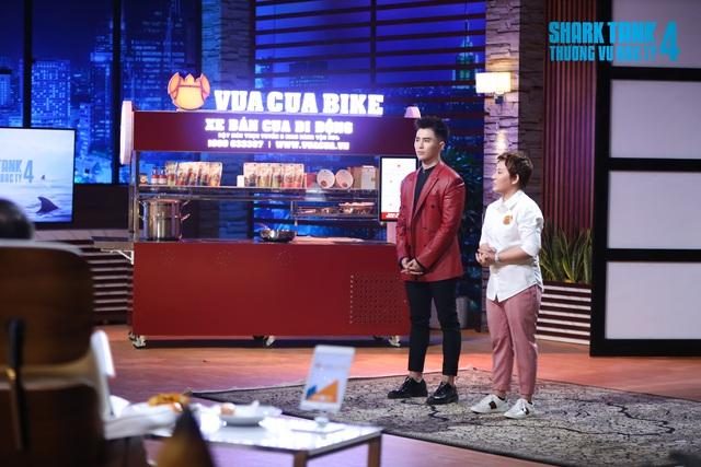 """Shark Tank mùa 4: Bán cua lãi 7 tỷ đồng/năm, 3 Shark """"tranh nhau"""" chiêu mộ Vua Cua để cùng thực hiện giấc mơ """"biến Việt Nam thành bếp ăn của thế giới"""" - Ảnh 1."""