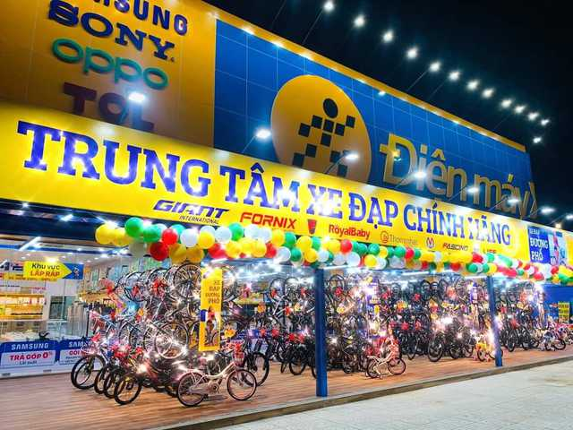 Thế Giới Di Động bán xe đạp: Căng bạt, tận dụng mặt bằng sẵn có nhưng mục tiêu doanh thu 400 tỷ năm 2021 - Ảnh 1.