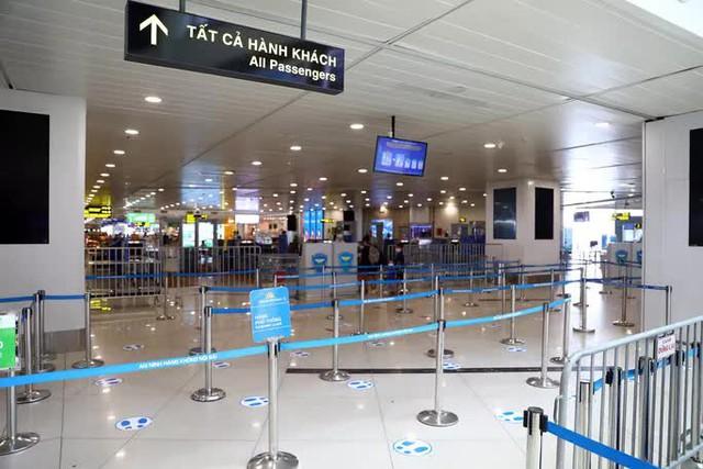 Cảng vụ hàng không miền Bắc khẳng định nước rửa tay ở Nội Bài không phải nước lã  - Ảnh 2.