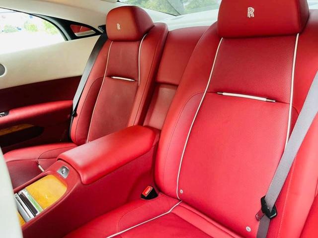 Mới chạy 10.000km, đại gia Việt rao bán Rolls-Royce Wraith rẻ hơn cả chục tỷ giá mua mới chính hãng - Ảnh 6.