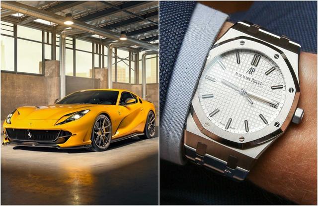 Đi xe sang phải đeo đồng hồ xịn mới chuẩn, nhưng phối sao cho xứng đôi vừa lứa là cả một nghệ thuật chỉ người giàu mới nắm rõ - Ảnh 8.