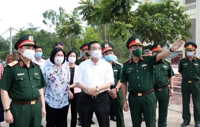 VIDEO: Các ca F0 tăng nhanh, Chủ tịch Chu Ngọc Anh thị sát tại khu cách ly  - Ảnh 2.