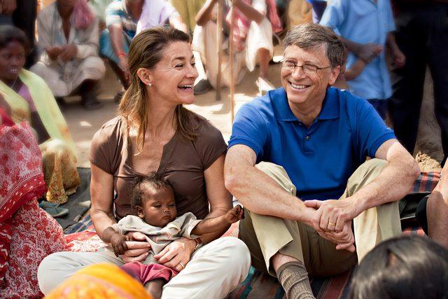 Cuộc hôn nhân 27 năm của vợ chồng tỷ phú Bill Gates qua những bức ảnh - Ảnh 1.