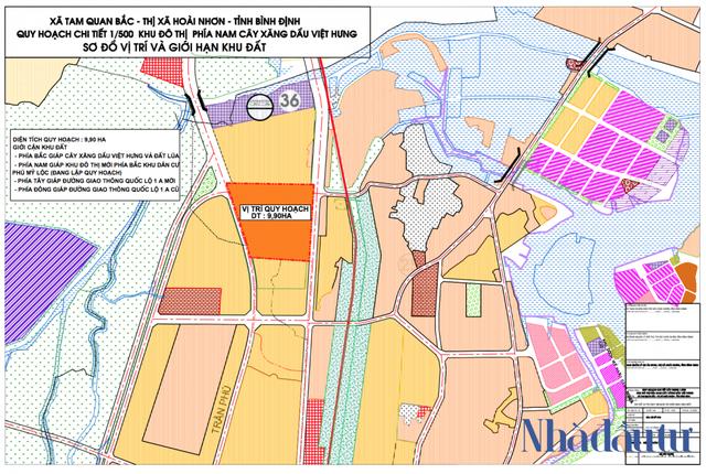 Bình Định tìm nhà đầu tư cho khu đô thị gần 800 tỷ đồng - Ảnh 1.
