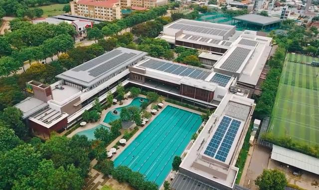 Gia tăng đầu tư điện mặt trời trong các tòa nhà cao tầng, trung tâm thương mại - Ảnh 1.