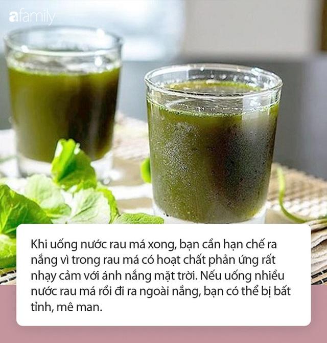 Nước rau má vừa ngon lại mát vào mùa nắng nóng nhưng đừng uống theo những cách này kẻo thành công cốc! - Ảnh 2.