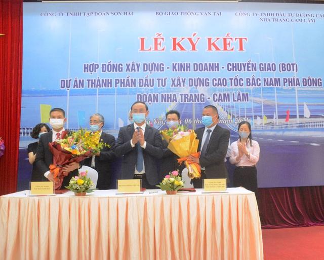 Dự án cao tốc Bắc - Nam đầu tiên được ký kết đầu tư hình thức PPP có tổng vốn hơn 5.000 tỷ đồng - Ảnh 1.