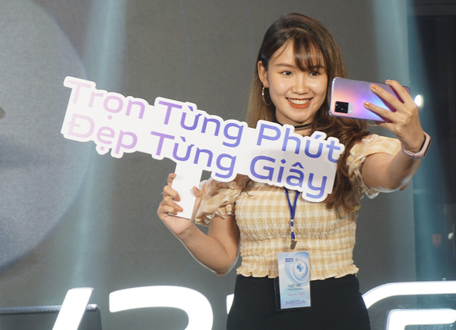 Smartphone chuyên selfie tích hợp 5G giá 10 triệu tại Việt Nam - Ảnh 8.