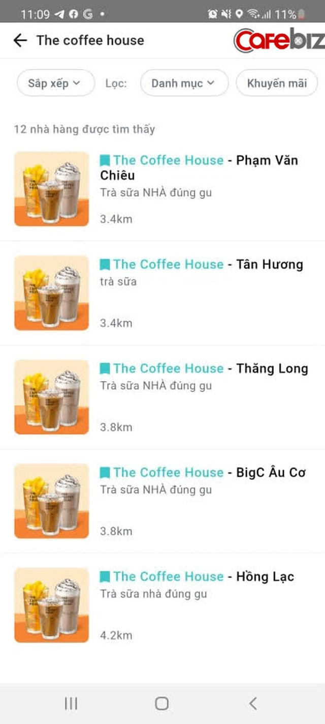 Sau 5 năm cố thủ không chơi với nền tảng thứ 3, cuối cùng The Coffee House đã xuất hiện trên một app giao đồ ăn! - Ảnh 2.