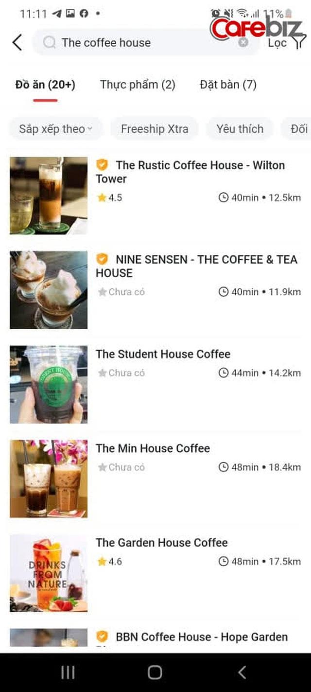 Sau 5 năm cố thủ không chơi với nền tảng thứ 3, cuối cùng The Coffee House đã xuất hiện trên một app giao đồ ăn! - Ảnh 3.
