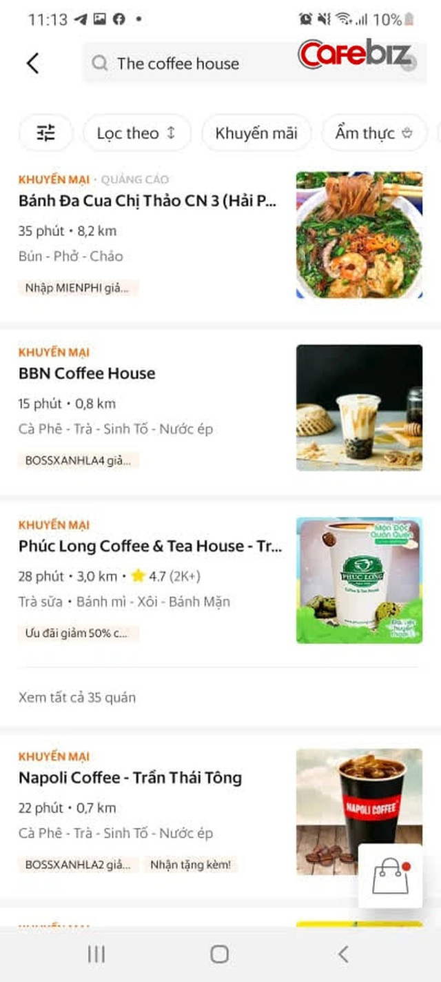 Sau 5 năm cố thủ không chơi với nền tảng thứ 3, cuối cùng The Coffee House đã xuất hiện trên một app giao đồ ăn! - Ảnh 4.