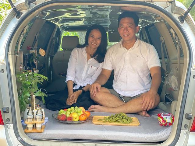 Cặp vợ chồng biến ô tô thành lều trại đi camping khắp nơi, tiện đâu ngủ đó mà sang trọng không thua khách sạn - Ảnh 3.