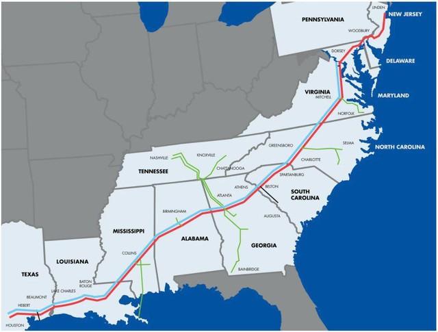 Hệ thống đường ống nhiên liệu lớn nhất Mỹ bị gián đoạn do tấn công mạng - Ảnh 1.