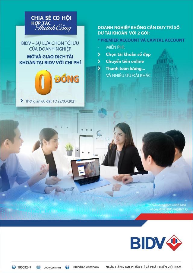 Cơ hội lớn cho doanh nghiệp khi giao dịch tại BIDV - Ảnh 1.