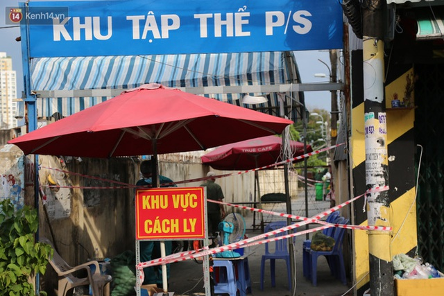 Phong tỏa chung cư 208 tại quận Bình Thạnh vì có trường hợp nghi nhiễm Covid-19 - Ảnh 4.