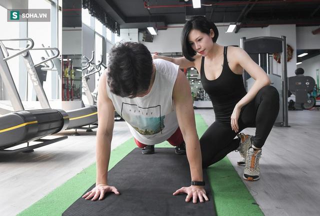 Nữ gymmer xinh đẹp làm việc 15 giờ/ngày, kiếm 200 triệu đồng mỗi tháng - Ảnh 5.