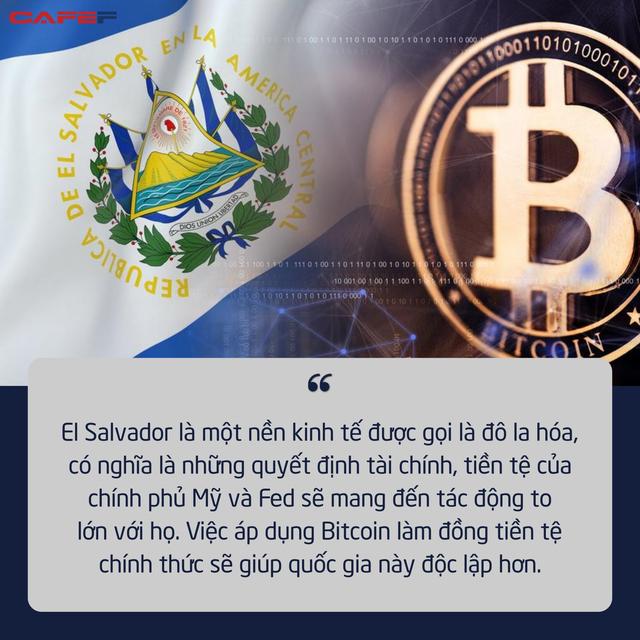 Thấy gì đằng sau quyết định bom tấn của quốc gia đầu tiên chấp nhận Bitcoin làm phương tiện thanh toán chính thức?  - Ảnh 1.