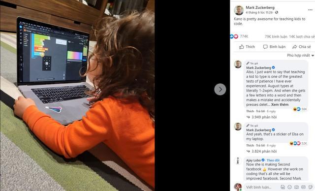 Nhà Mark Zuckerberg dạy con: Cho nghe sách vật lý lượng tử lúc 2 tháng tuổi, học lập trình khi mới lên 3 nhưng vẫn quản nghiêm việc này  - Ảnh 1.
