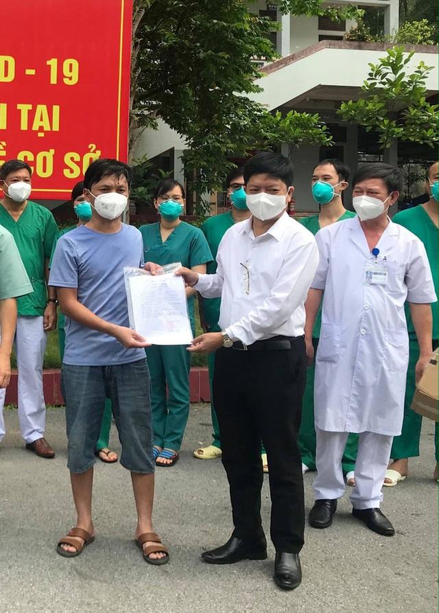 2 ca Covid-19 trẻ tuổi, diễn biến nặng đầu tiên tại Bắc Giang khỏi bệnh: Tưởng như tuyệt vọng, nhưng các bác sĩ đã không bỏ rơi tôi - Ảnh 1.