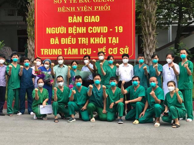 2 ca Covid-19 trẻ tuổi, diễn biến nặng đầu tiên tại Bắc Giang khỏi bệnh: Tưởng như tuyệt vọng, nhưng các bác sĩ đã không bỏ rơi tôi - Ảnh 2.
