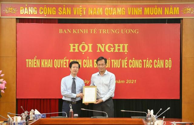 Ông Đỗ Ngọc An làm Phó Trưởng Ban Kinh tế Trung ương - Ảnh 1.