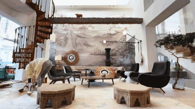 """Biệt thự đặc biệt của bà mẹ 7x: Tự tay sửa """"đồng nát"""" thành đồ nội thất, ngắm không gian sống ai cũng trầm trồ vì quá nghệ thuật - Ảnh 8."""