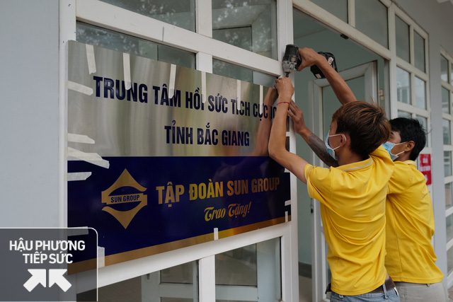 Vừa xây Trung tâm hồi sức tích cực cho Bắc Giang, Sungroup và công ty con ủng hộ Quỹ vắc xin 320 tỷ đồng, Vietlot, Kho bạc Nhà nước, DATC ủng hộ gần 6,5 tỷ - Ảnh 2.