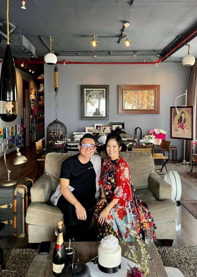 Không gian căn hộ tiện nghi, đậm chất nghệ thuật của diva Hồng Nhung: Nơi để gia đình vui vầy, gắn bó yêu thương - Ảnh 14.
