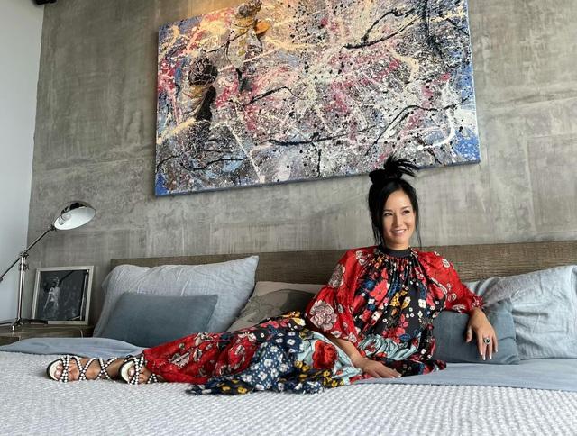 Không gian căn hộ tiện nghi, đậm chất nghệ thuật của diva Hồng Nhung: Nơi để gia đình vui vầy, gắn bó yêu thương - Ảnh 8.