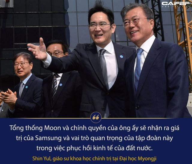 Tổng thống Hàn Quốc tiến thoái lưỡng nan vì Thái tử đang ngồi tù của Samsung - Ảnh 2.