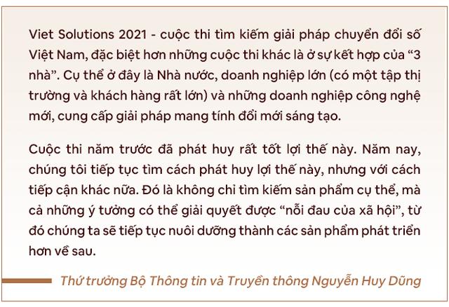Thứ trưởng Bộ TTTT: Với Viet Solutions thời Covid, các đội thi nên nghĩ tới việc biến đau thương thành cơ hội! - Ảnh 8.