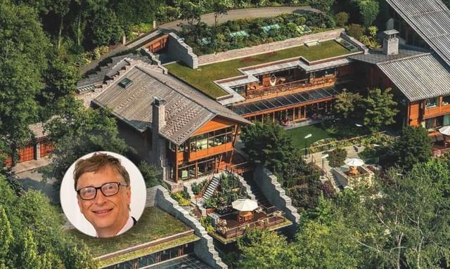 Nơi ở hoành tráng, cao cấp không ngờ của các tỷ phú giàu nhất nước Mỹ: Bill Gates đứng đầu danh sách - Ảnh 1.