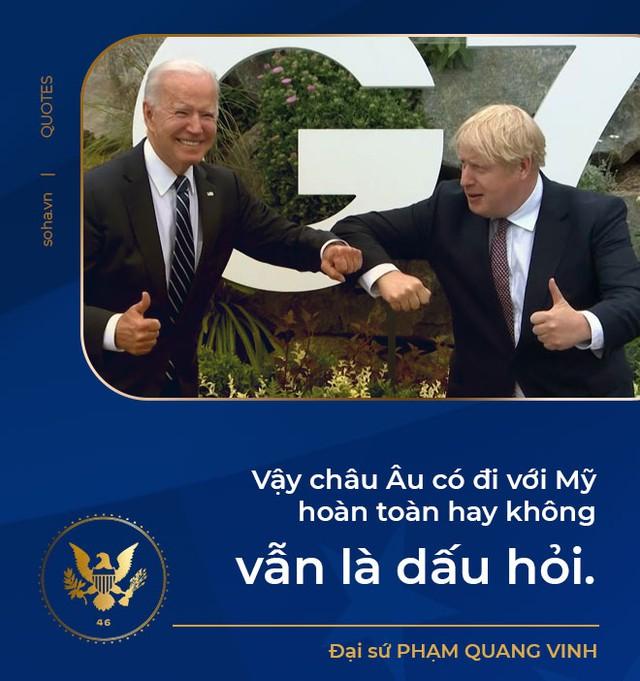 Tổng thống Biden công du châu Âu: Giải bài toán Trung Quốc, phép thử từ đồng minh và tính toán với nước Nga - Ảnh 3.
