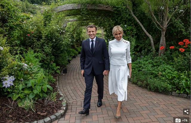 Không phải Công nương Kate, Đệ nhất phu nhân Pháp mới là người chiếm spotlight với vẻ ngoài hoàn hảo cùng một chi tiết đáng ghen tỵ - Ảnh 2.