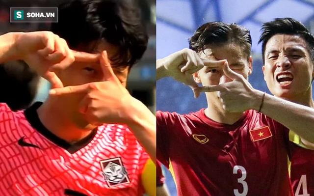 Son Heung-min ăn mừng giống hệt Quế Ngọc Hải, Hàn Quốc loại bớt một địch thủ cho ĐT Việt Nam - Ảnh 3.