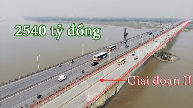 Chọn xong nhà thầu xây cầu chính Vĩnh Tuy giai đoạn 2 - Ảnh 1.
