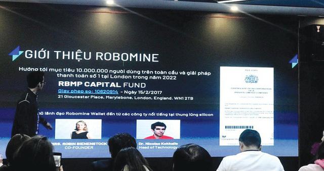 Công an vào cuộc xác minh dự án tiền ảo Robomine bị tố lừa nghìn tỷ - Ảnh 1.