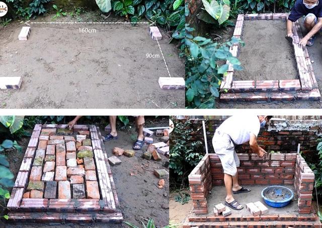 Làm thế nào để kết hợp vườn rau sạch và bể cá khi không gian sân nhà bạn quá chật hẹp? - Ảnh 1.