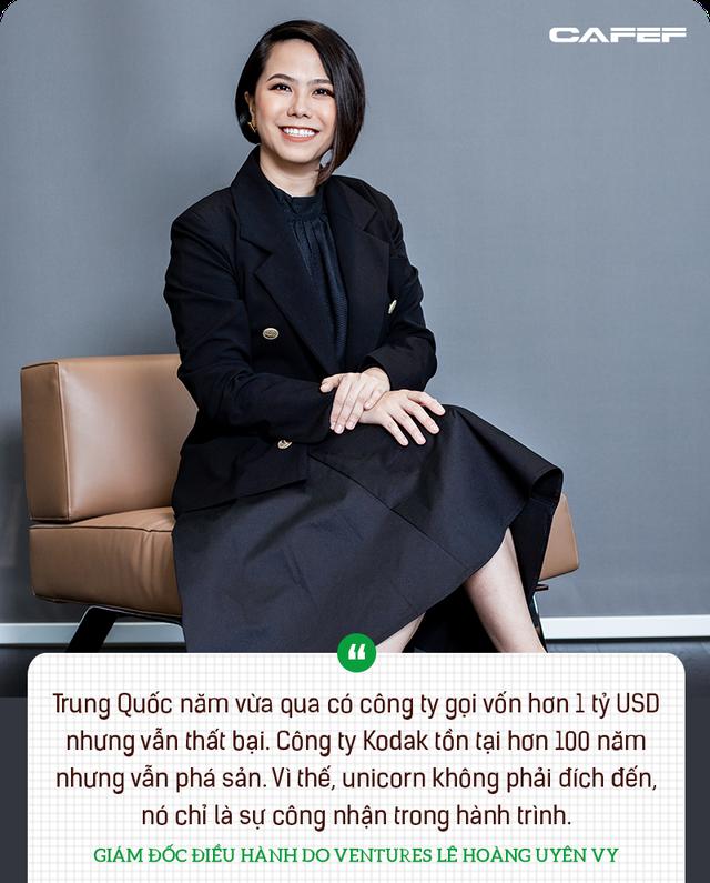 Lê Hoàng Uyên Vy: 92% startup thất bại, có những founder phải cầm nhà cầm xe, nhưng sự kiên định giúp họ thành công - Ảnh 3.