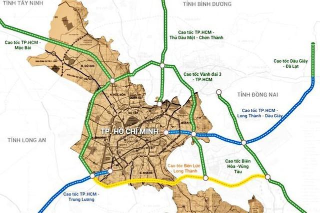 Siêu dự án cao tốc 36 nghìn tỷ nối TP.HCM - Thủ Dầu Một - Chơn Thành - Ảnh 1.
