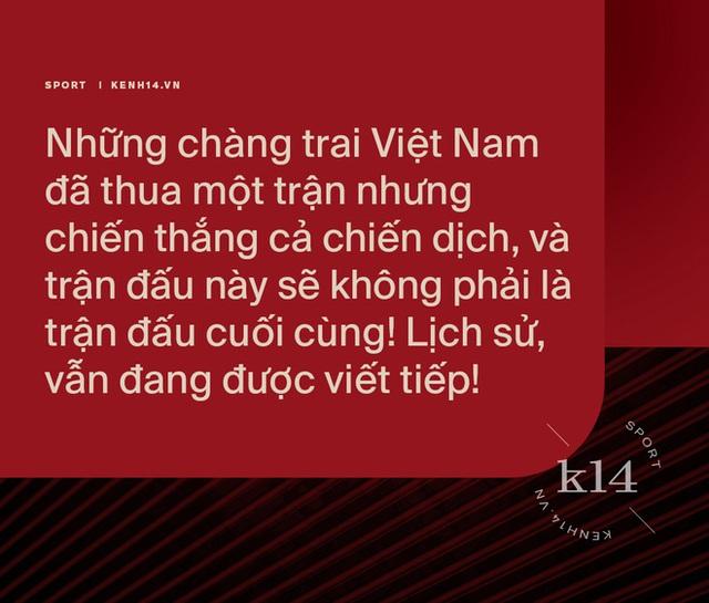 Thua một trận, thắng cả chiến dịch: Và lịch sử bóng đá Việt Nam vẫn đang được viết tiếp! - Ảnh 12.