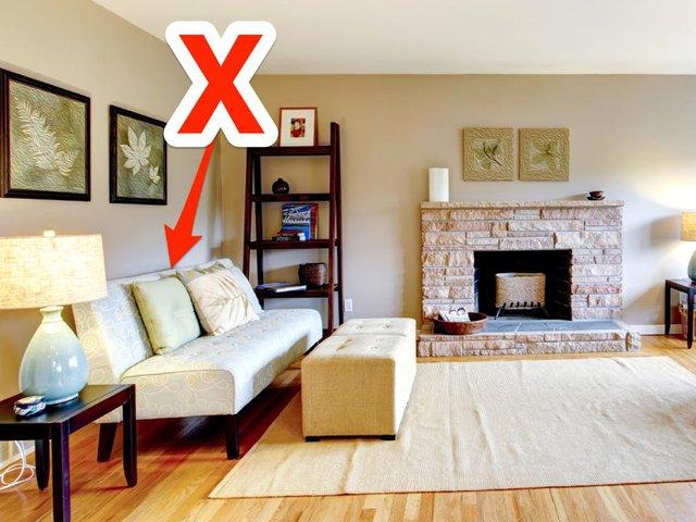 Chuyên gia thiết kế nội thất bắt lỗi 7 sai lầm trong thiết kế khiến phòng khách trở nên kém sang: Điều chỉnh 1 chi tiết nhỏ thôi cũng nâng tầm cho ngôi nhà của bạn - Ảnh 2.